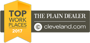 2017 The Plain Dealer Top Work Places Award Winner