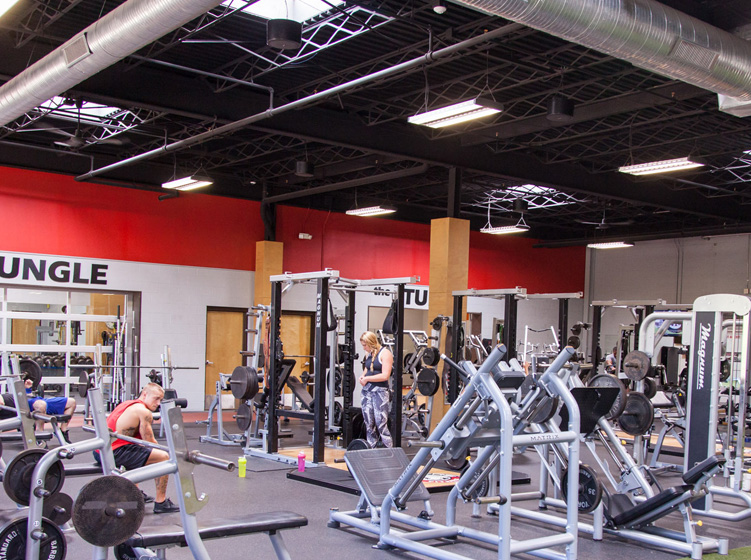 Zephyrs Fitness Facility Interior Photo