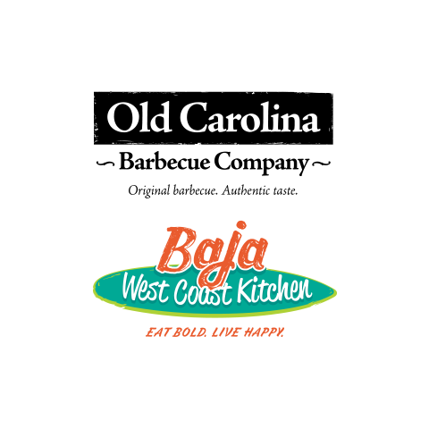 Old Carolina and Baja West Coast Kitchen Logos